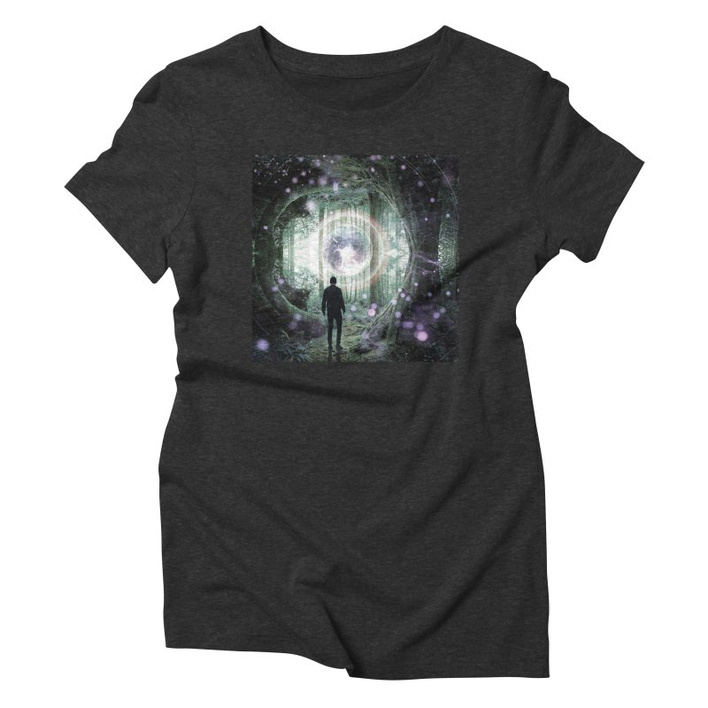 Forest Orb 2 Women's Triblend T-Shirt by Vin Zzep's Artist Shop