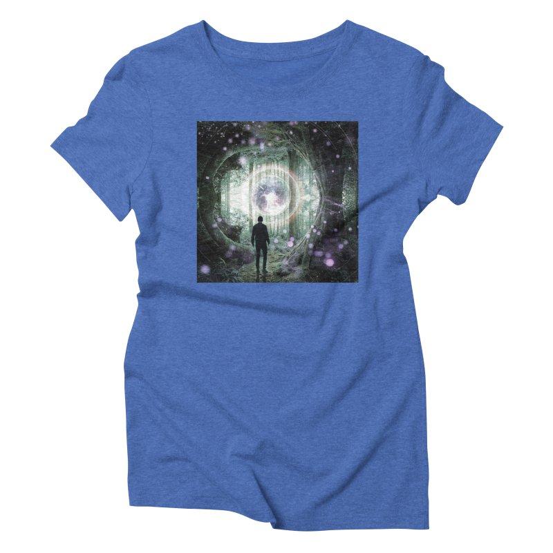 Forest Orb 2 Women's Triblend T-Shirt by Vin Zzep's Artist Shop