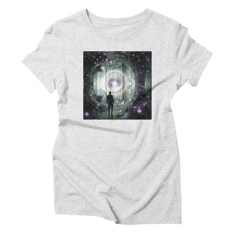 Forest Orb 2 Women's T-Shirt by Vin Zzep's Artist Shop
