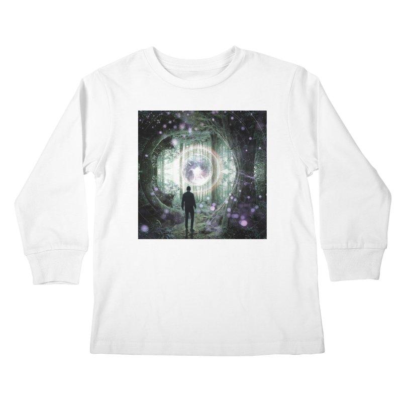 Forest Orb 2 Kids Longsleeve T-Shirt by Vin Zzep's Artist Shop