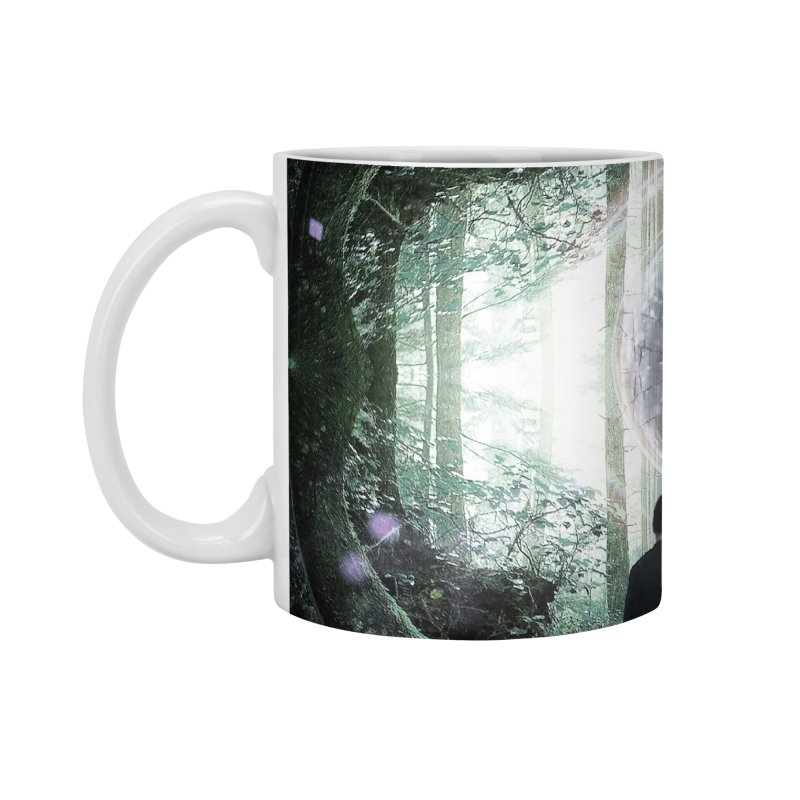 Forest Orb 2 Accessories Mug by Vin Zzep's Artist Shop