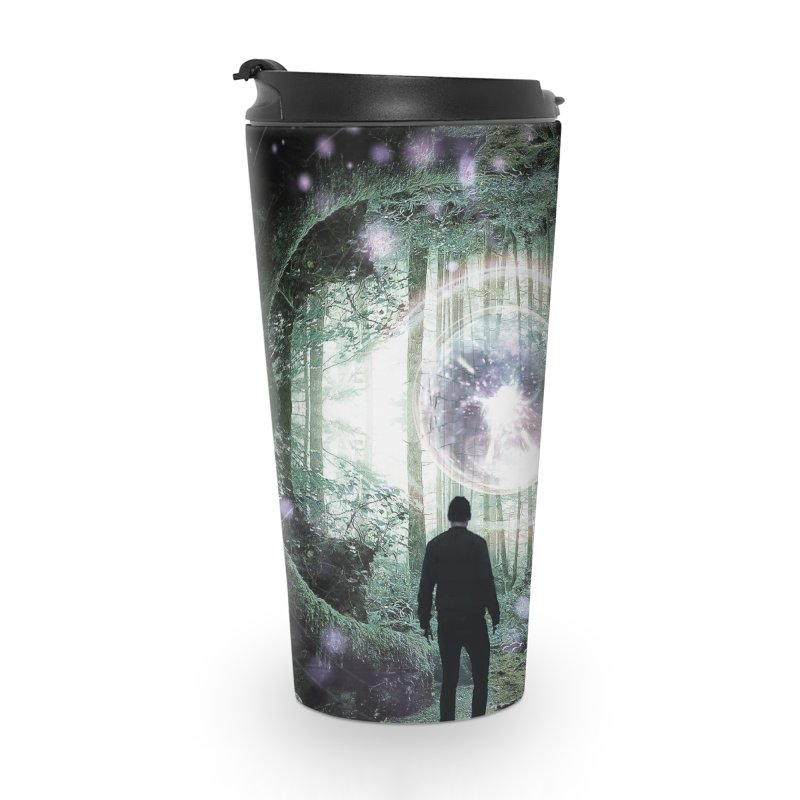 Forest Orb 2 Accessories Travel Mug by Vin Zzep's Artist Shop