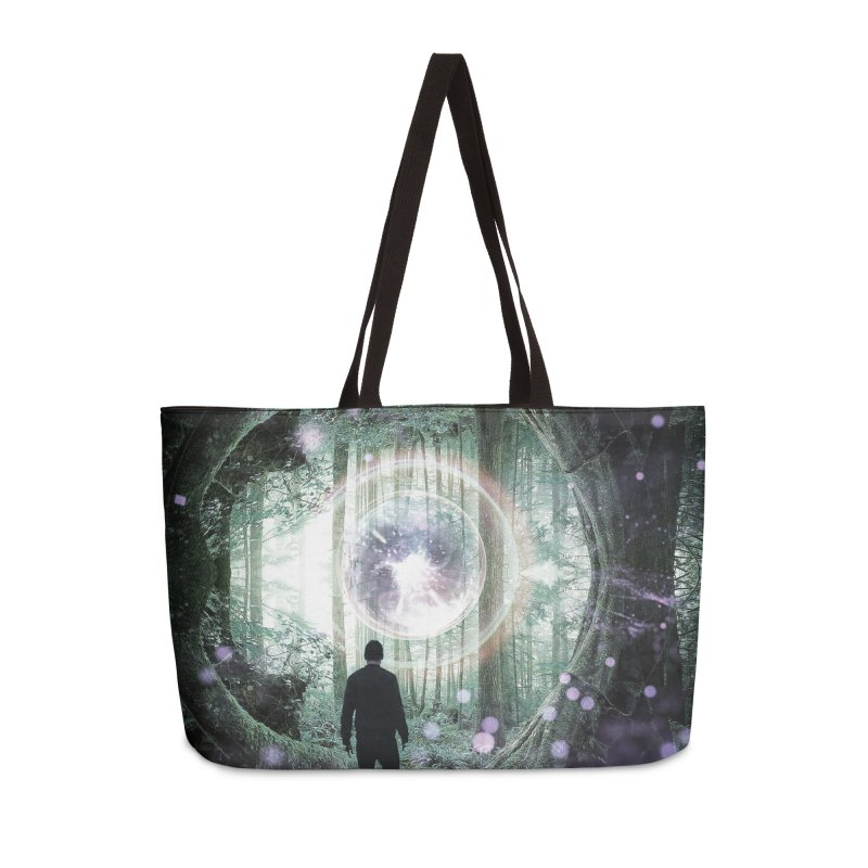 Forest Orb 2 Accessories Weekender Bag Bag by Vin Zzep's Artist Shop