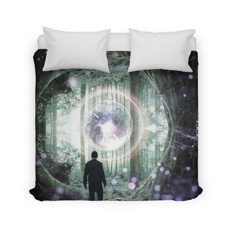 Forest Orb 2 Home Duvet by Vin Zzep's Artist Shop