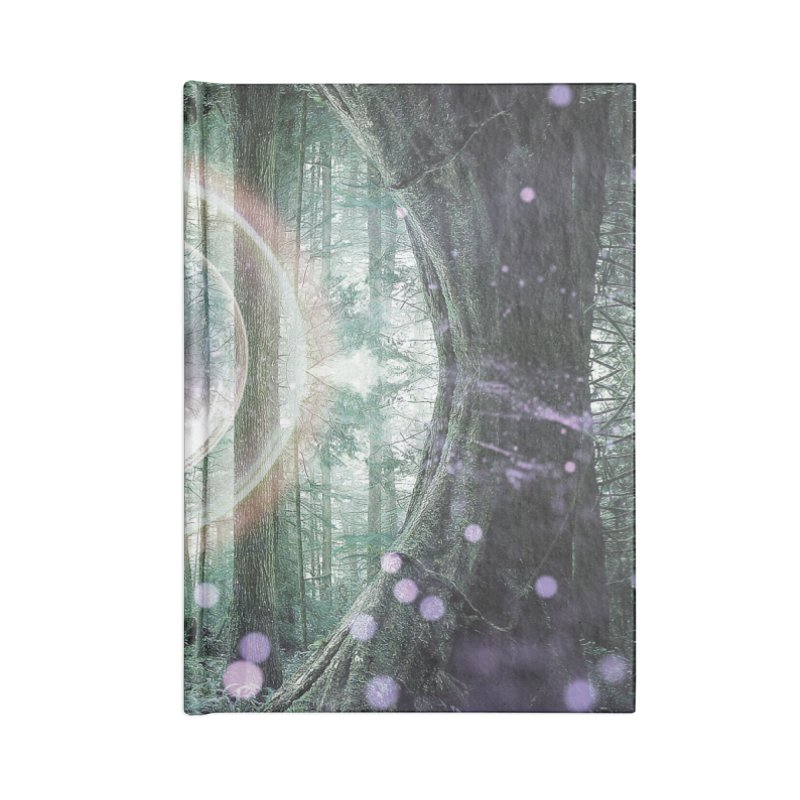 Forest Orb 2 Accessories Notebook by Vin Zzep's Artist Shop