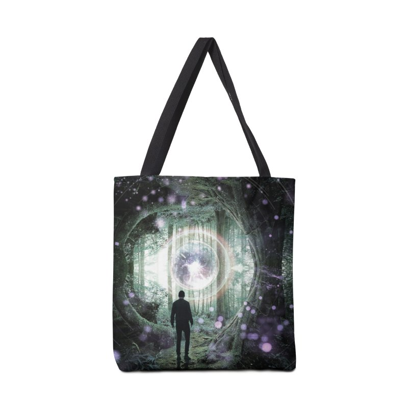 Forest Orb 2 Accessories Tote Bag Bag by Vin Zzep's Artist Shop