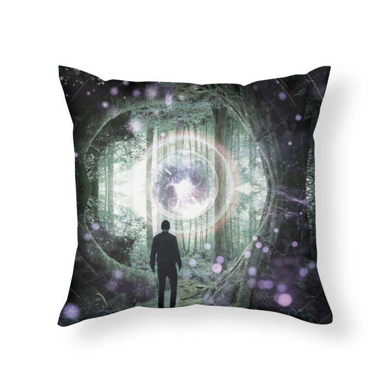 Forest Orb 2 Home Throw Pillow by Vin Zzep's Artist Shop