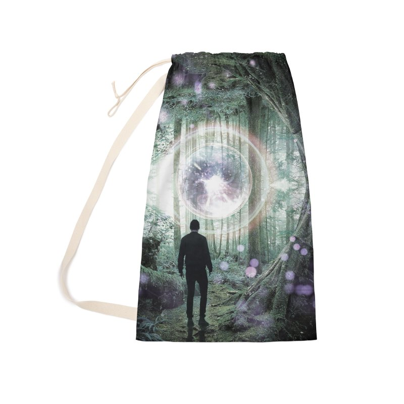 Forest Orb 2 Accessories Bag by Vin Zzep's Artist Shop