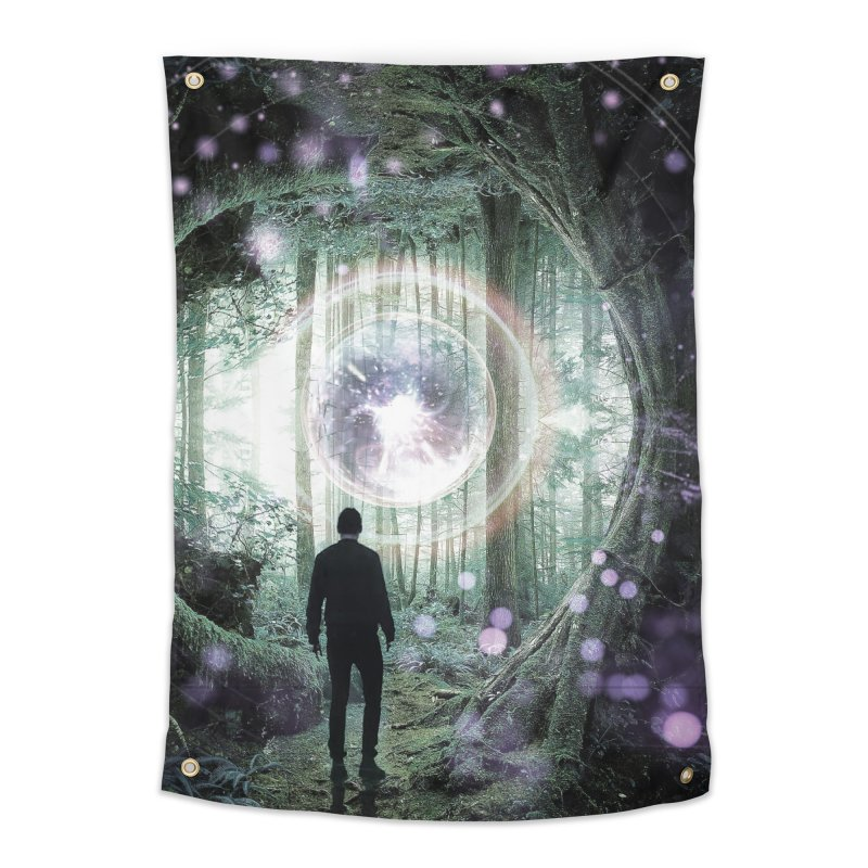 Forest Orb 2 Home Tapestry by Vin Zzep's Artist Shop