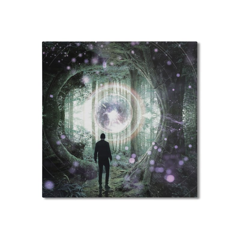Forest Orb 2 Home Mounted Aluminum Print by Vin Zzep's Artist Shop