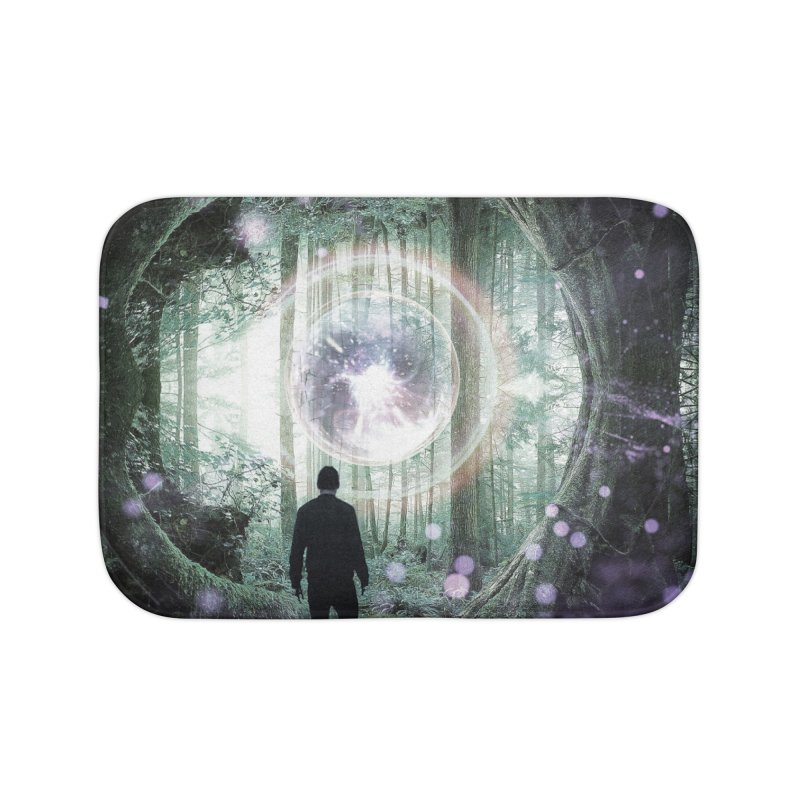 Forest Orb 2 Home Bath Mat by Vin Zzep's Artist Shop