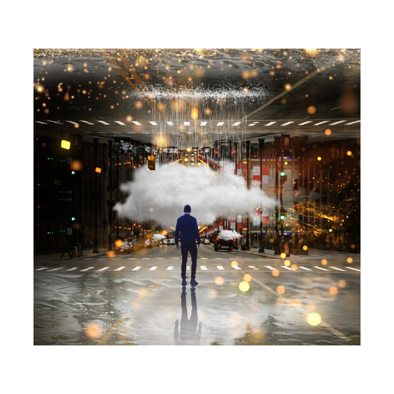 Raining on the Streets by Vin Zzep's Artist Shop