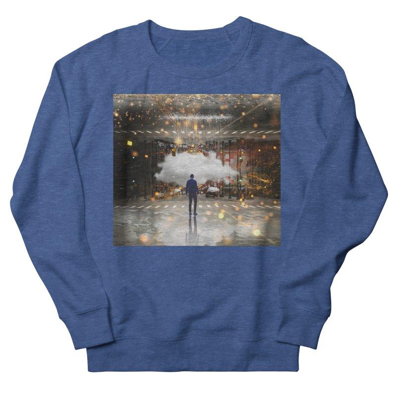 Raining on the Streets Men's Sweatshirt by Vin Zzep's Artist Shop