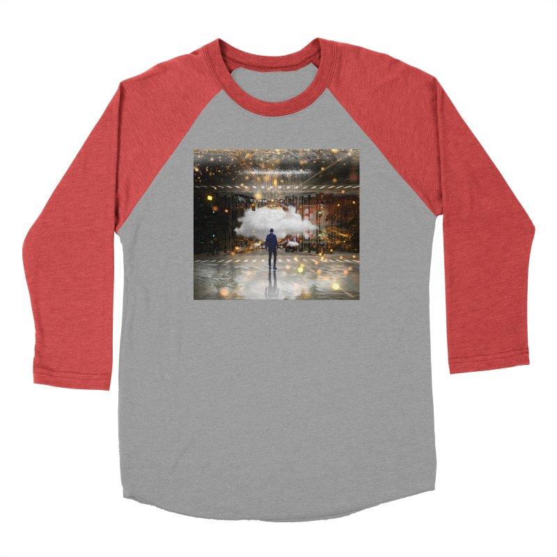 Raining on the Streets Women's Baseball Triblend Longsleeve T-Shirt by Vin Zzep's Artist Shop