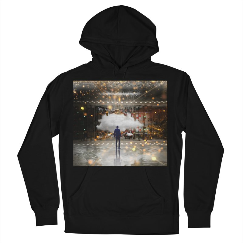 Raining on the Streets Women's French Terry Pullover Hoody by Vin Zzep's Artist Shop