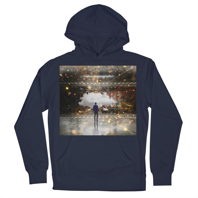Raining on the Streets Men's Pullover Hoody by Vin Zzep's Artist Shop
