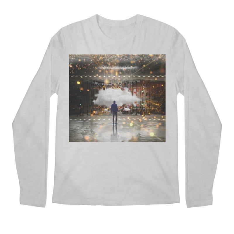 Raining on the Streets Men's Regular Longsleeve T-Shirt by Vin Zzep's Artist Shop