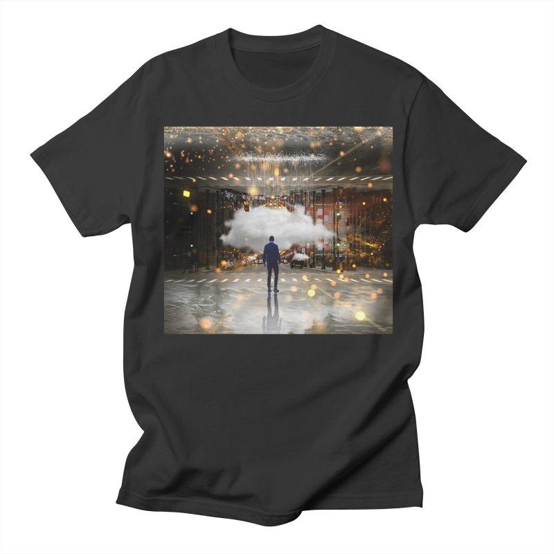 Raining on the Streets Women's Regular Unisex T-Shirt by Vin Zzep's Artist Shop