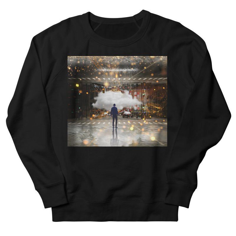 Raining on the Streets Women's French Terry Sweatshirt by Vin Zzep's Artist Shop