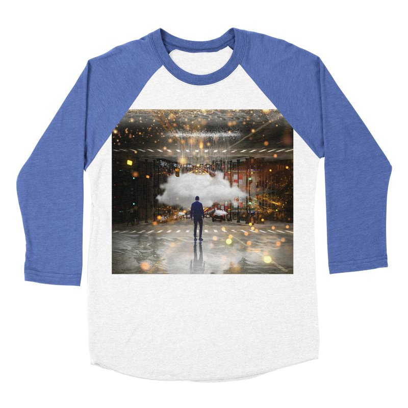 Raining on the Streets Women's Baseball Triblend Longsleeve T-Shirt by Vin Zzep's Artist Shop