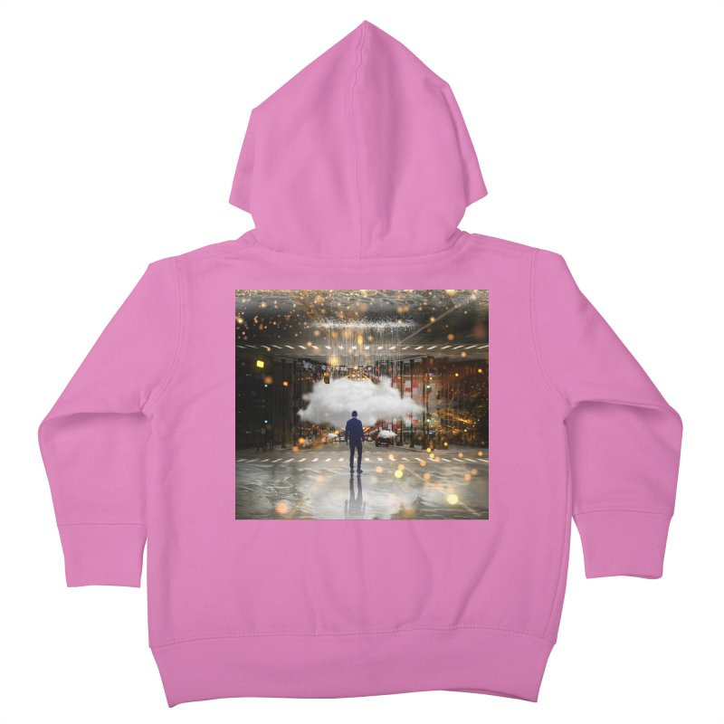 Raining on the Streets Kids Toddler Zip-Up Hoody by Vin Zzep's Artist Shop