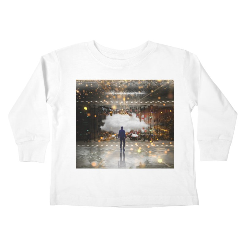 Raining on the Streets Kids Toddler Longsleeve T-Shirt by Vin Zzep's Artist Shop