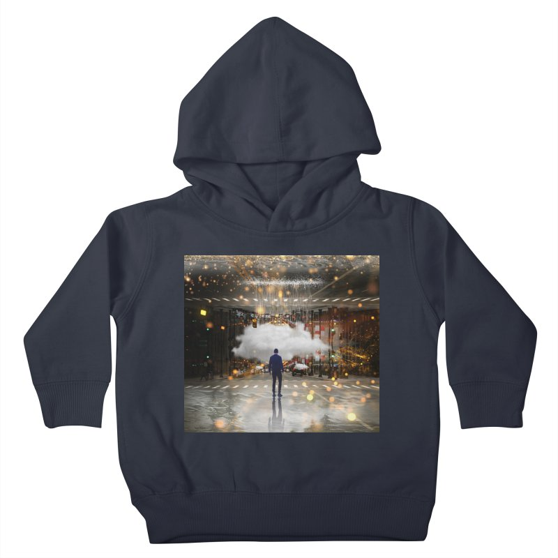 Raining on the Streets Kids Toddler Pullover Hoody by Vin Zzep's Artist Shop