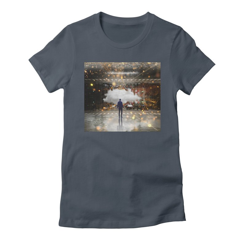 Raining on the Streets Women's T-Shirt by Vin Zzep's Artist Shop