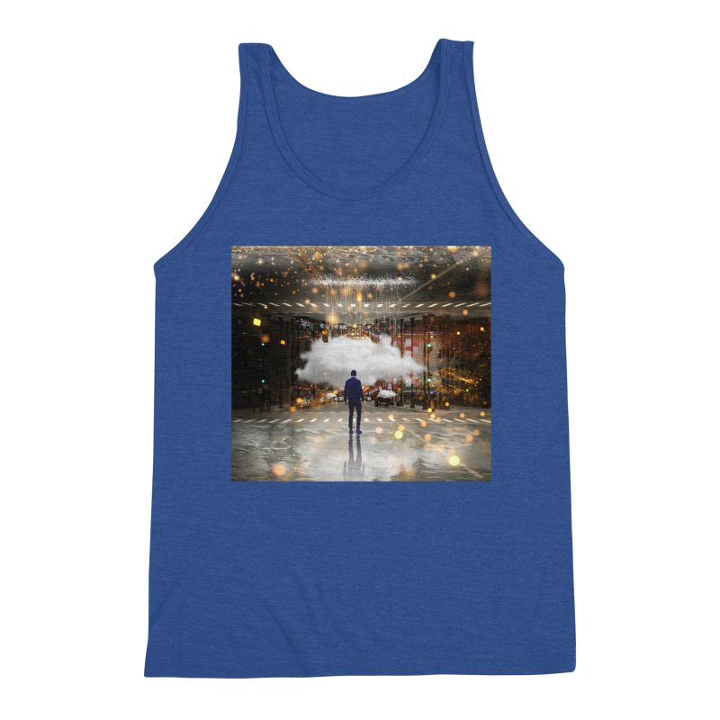 Raining on the Streets Men's Tank by Vin Zzep's Artist Shop