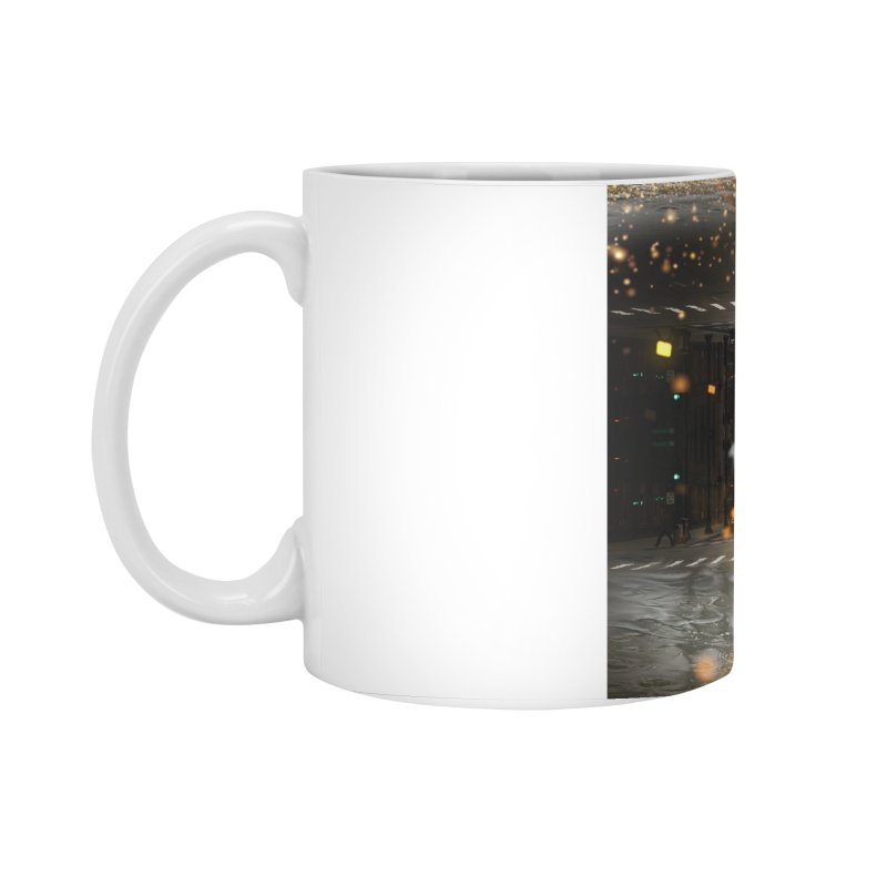 Raining on the Streets Accessories Standard Mug by Vin Zzep's Artist Shop