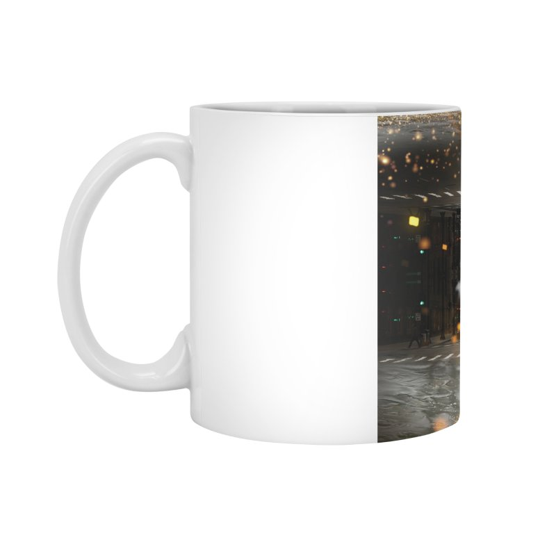 Raining on the Streets Accessories Mug by Vin Zzep's Artist Shop