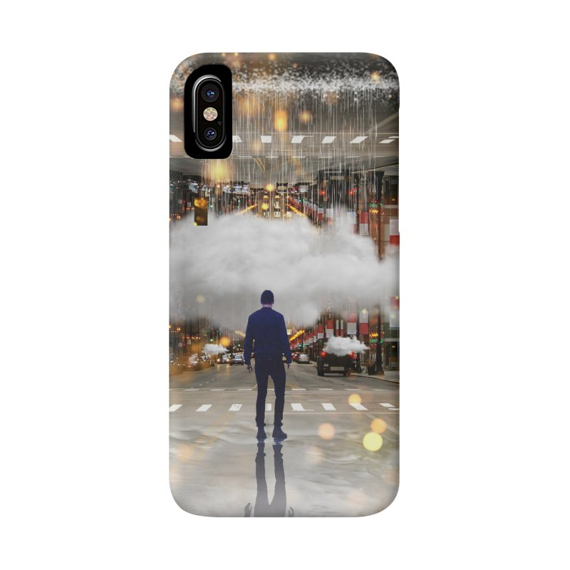 Raining on the Streets Accessories Phone Case by Vin Zzep's Artist Shop