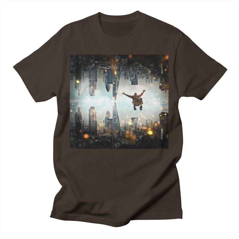 London Falling Men's T-Shirt by Vin Zzep's Artist Shop