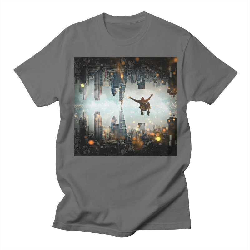 London Falling Men's T-Shirt by Vin Zzep's Artist Shop
