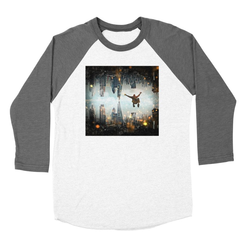 London Falling Women's Longsleeve T-Shirt by Vin Zzep's Artist Shop