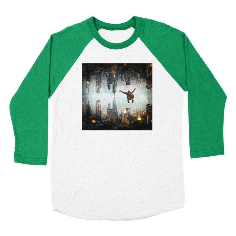 London Falling Women's Longsleeve T-Shirt by Vin Zzep's Artist Shop