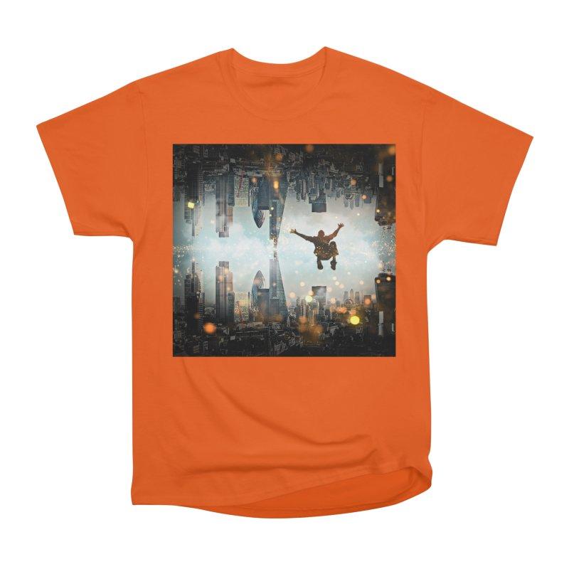 London Falling Men's Heavyweight T-Shirt by Vin Zzep's Artist Shop