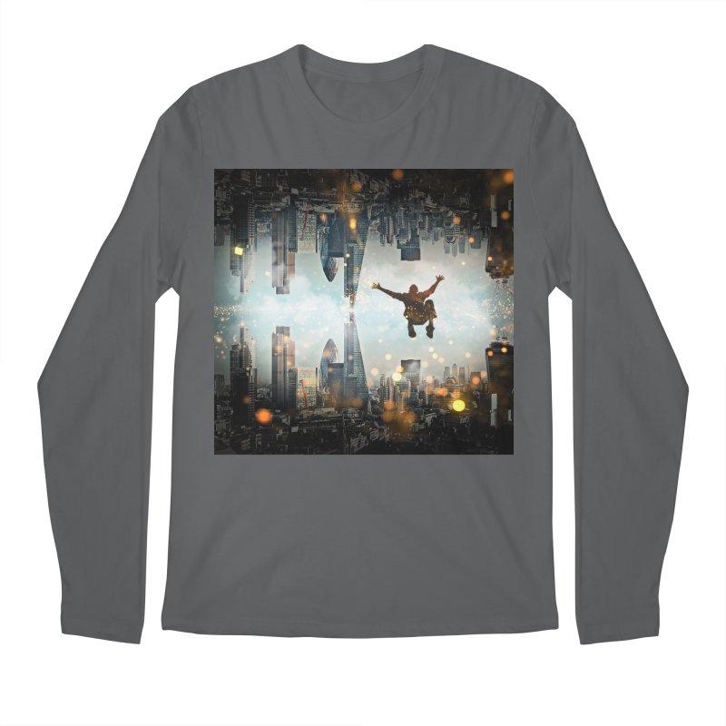 London Falling Men's Longsleeve T-Shirt by Vin Zzep's Artist Shop