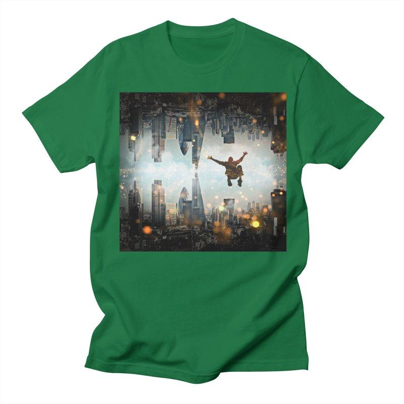 London Falling Women's Regular Unisex T-Shirt by Vin Zzep's Artist Shop