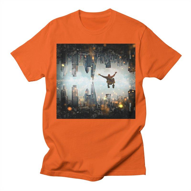 London Falling Men's Regular T-Shirt by Vin Zzep's Artist Shop