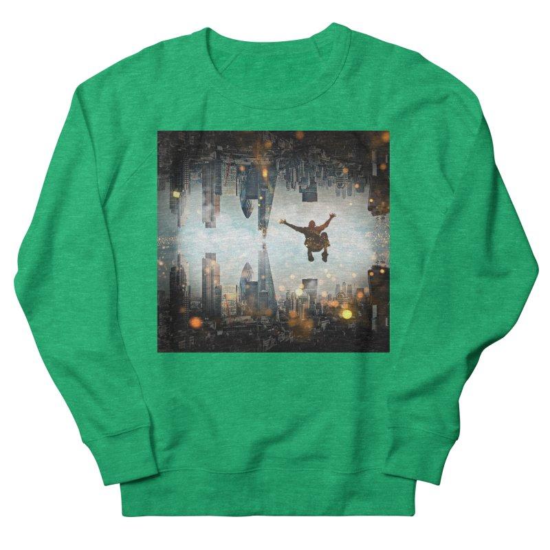 London Falling Women's Sweatshirt by Vin Zzep's Artist Shop