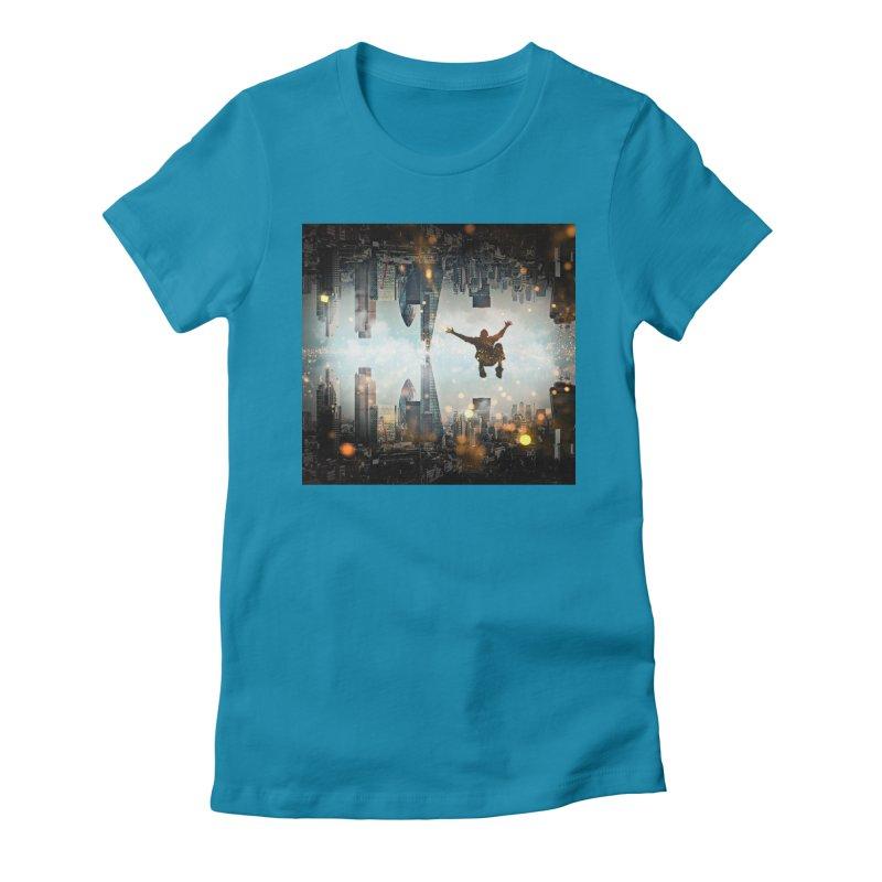 London Falling Women's T-Shirt by Vin Zzep's Artist Shop