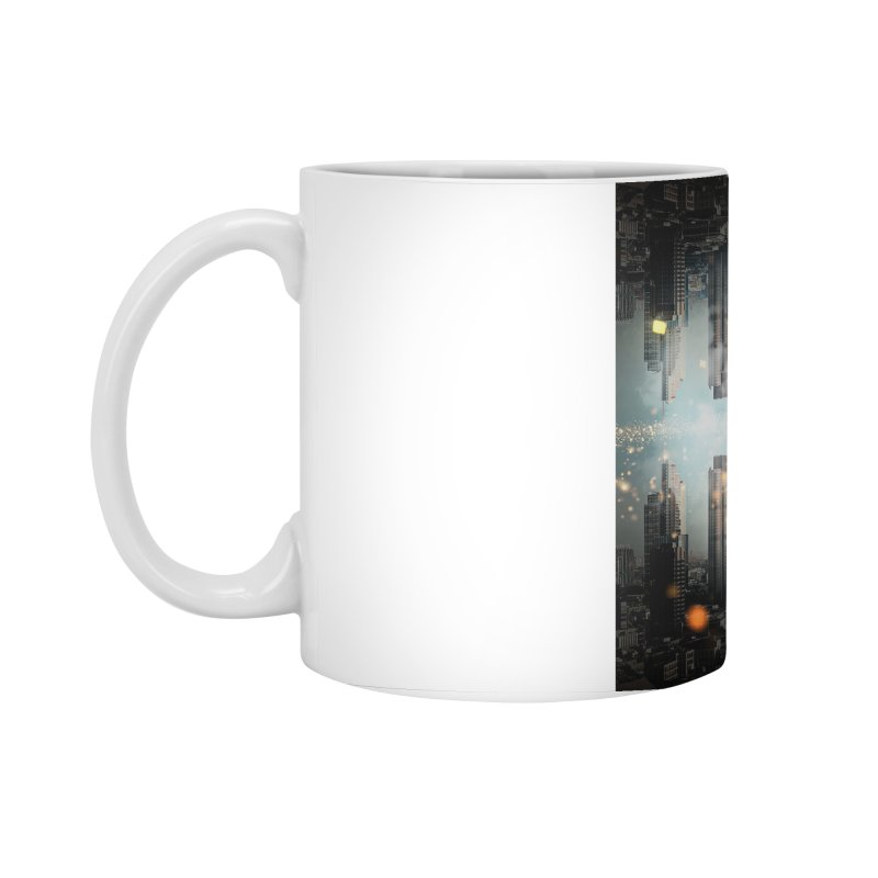 London Falling Accessories Standard Mug by Vin Zzep's Artist Shop