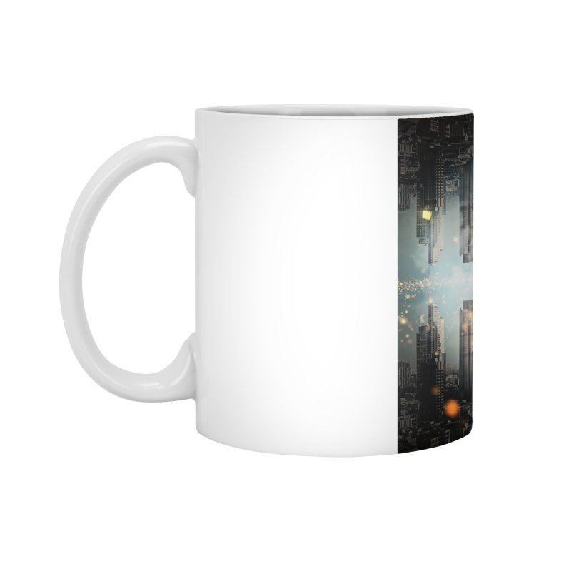 London Falling Accessories Mug by Vin Zzep's Artist Shop