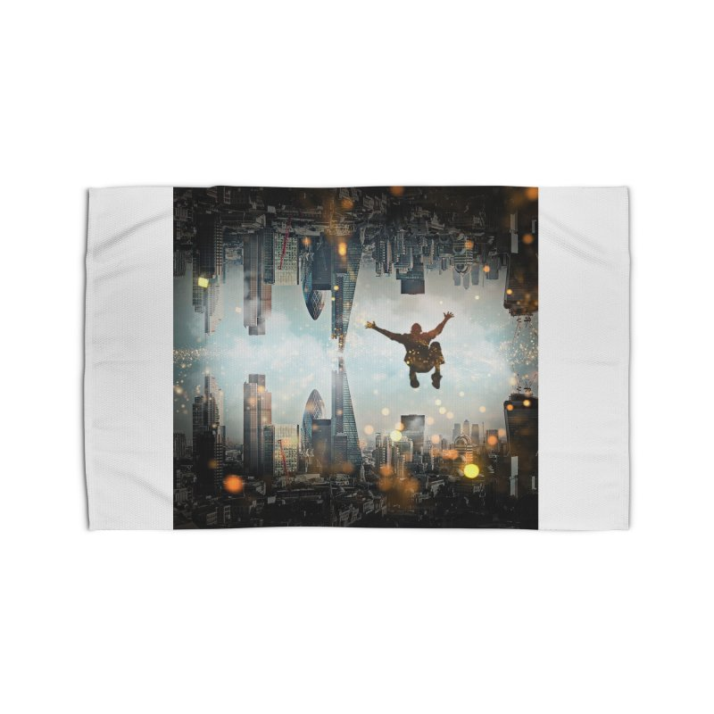 London Falling Home Rug by Vin Zzep's Artist Shop