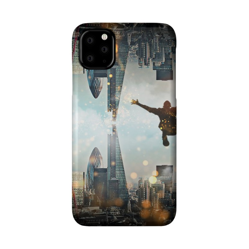 London Falling Accessories Phone Case by Vin Zzep's Artist Shop