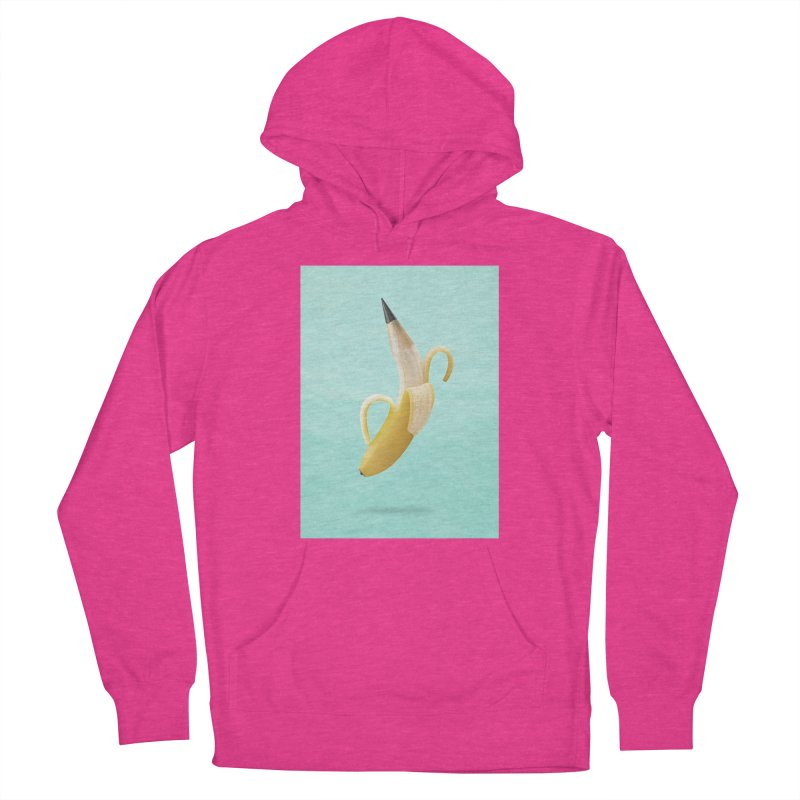 Banana Pencil Women's Pullover Hoody by Vin Zzep's Artist Shop