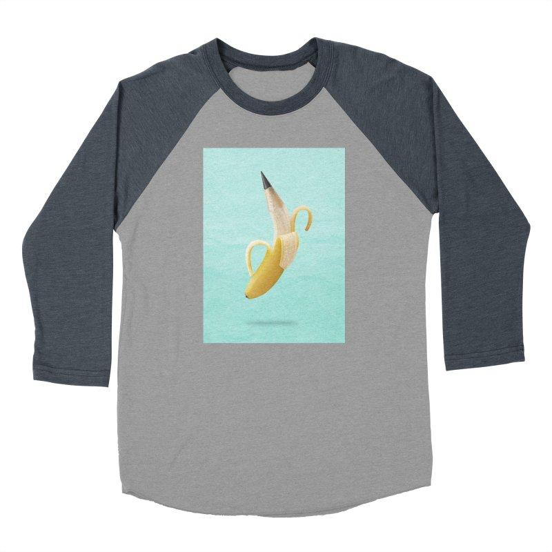 Banana Pencil Women's Longsleeve T-Shirt by Vin Zzep's Artist Shop