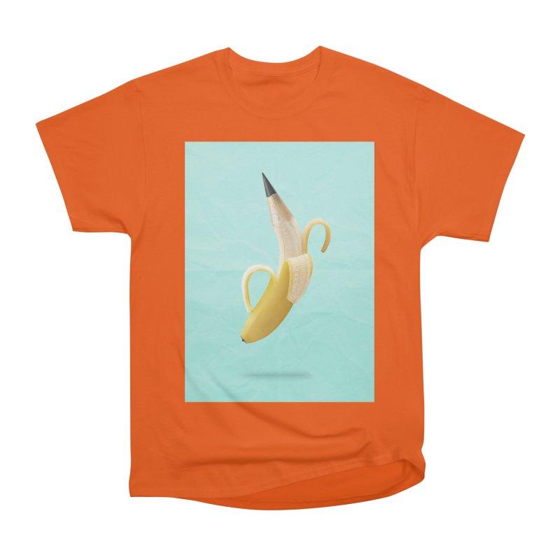 Banana Pencil Men's T-Shirt by Vin Zzep's Artist Shop