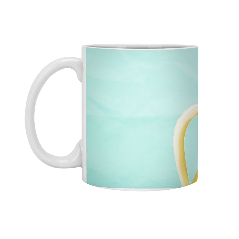 Banana Pencil Accessories Standard Mug by Vin Zzep's Artist Shop